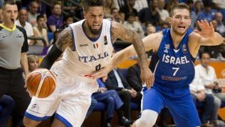 Basket, Europei: l'Italia vince e convince, battuto Israele all'esordio