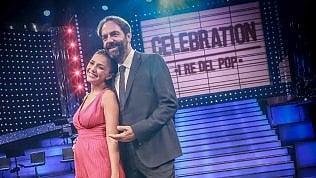 'Celebration', Neri Marcoré e Serena Rossi dal pop al rock